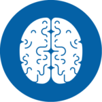 Image of a brain to represent negotiation training.