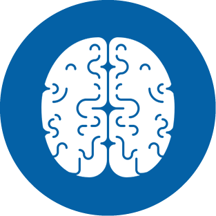 Sales Training Icon - Brain